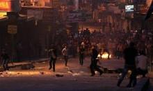 مواجهات مع جنود الاحتلال برام الله وقلقيلية