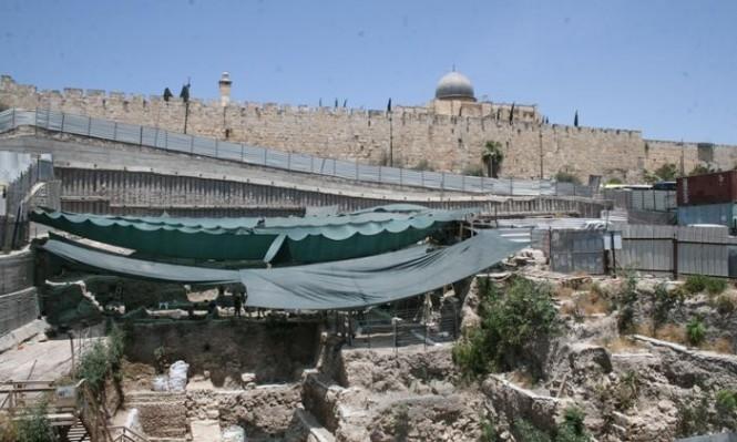الاحتلال يشرع بإقامة جسر استيطاني يربط سلوان بساحة البراق