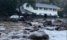 13 قتيلا جراء فيضانات وحلية في كاليفورنيا
