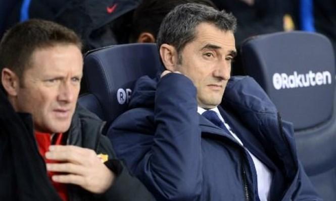 مدرب برشلونة يفتح باب الرحيل أمام مهاجمه