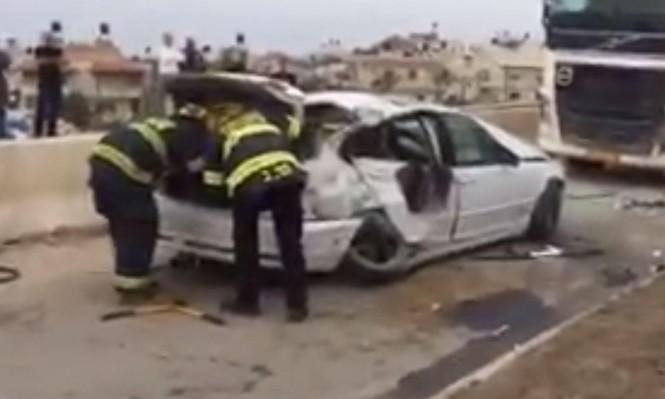 كفرقاسم: إصابة خطيرة في حادث طرق