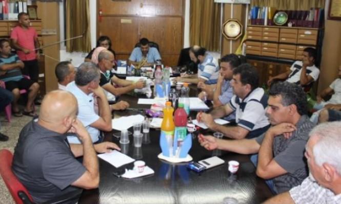 مجلس مجد الكروم يقر ميزانيته للعام 2018