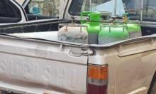 مصادرة أسطوانات غاز بالرينة ويافة الناصرة واعتقال عمال بالناصرة