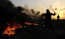 41 إصابة بالمواجهات مع الاحتلال في غزة