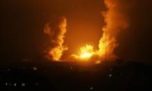 طائرات الاحتلال تقصف موقعا قرب معبر كرم أبو سالم