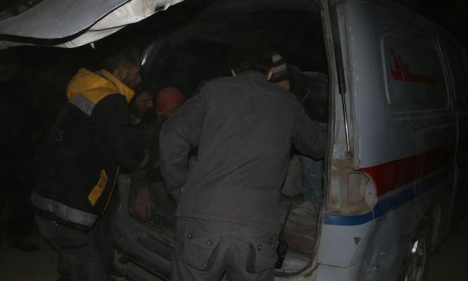 النظام السوري يستهدف دوما بغاز الكلور السام
