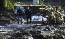 ارتفاع ضحايا الانهيارات الطينية في كاليفورنيا إلى 19