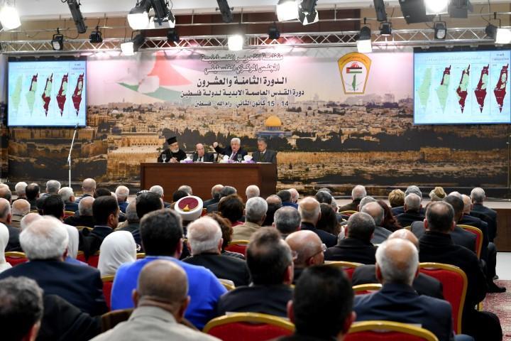 المركزي الفلسطيني يوصي بوقف التنسيق الأمني وتعليق الاعتراف بإسرائيل