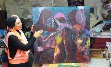 سمر بدران: الدعم للفنانين التشكيليين في البلاد غير كاف