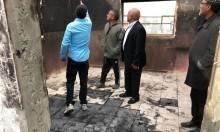 النقب: احتراق بيت يأوي عائلتين في قرية المشاش