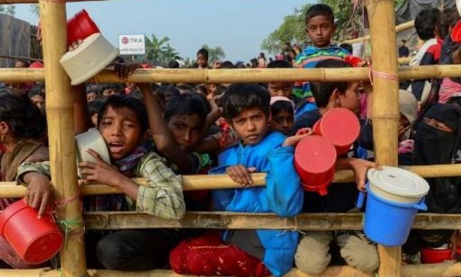 أكثر من مليون لاجئ من الروهينغا ببنغلادش