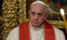 """البابا يدعو لتبني """"وضع خاص للقدس"""""""