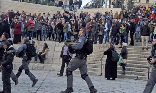 جرحى بقمع الاحتلال تظاهرة بالقدس ومواجهات بكفر قدوم