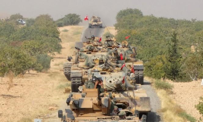 """تركيا تدفع بتعزيزات لـ""""غصن الزيتون"""" وتمهد لتدخل بري بسورية"""