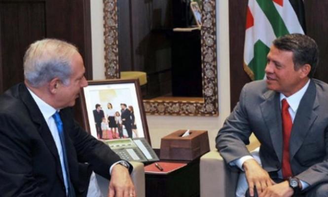 القناة العاشرة: اتصالات دبلوماسية لإجراء محادثات بين نتنياهو والملك عبدالله