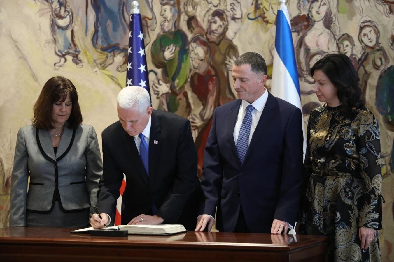 بنس لنتنياهو: الاعتراف بالقدس سيعجل مفاوضات السلام