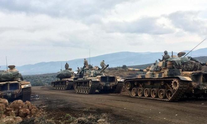 تركيا تمنع التظاهر ضد عمليتها العسكرية بعفرين السورية