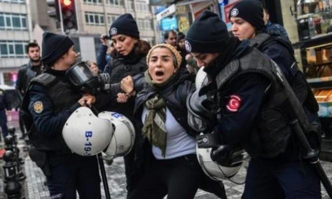 """تركيا تعتقل 35 شخصا بزعم التحريض ضد """"غصن الزيتون"""""""
