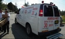 النقب: إصابة متوسطة لشاب سقط من علو