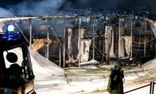 بسبب مشاجرة مع صديقته: ألماني أضرم النار في مركز للاجئين
