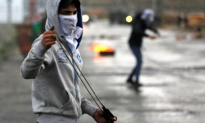 مواجهات بالضفة الغربية المحتلة احتجاجًا على زيارة بينس
