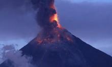 مزيد من النزوح: بركان الفلبين يقذف حمما بارتفاع 5 كيلومترات