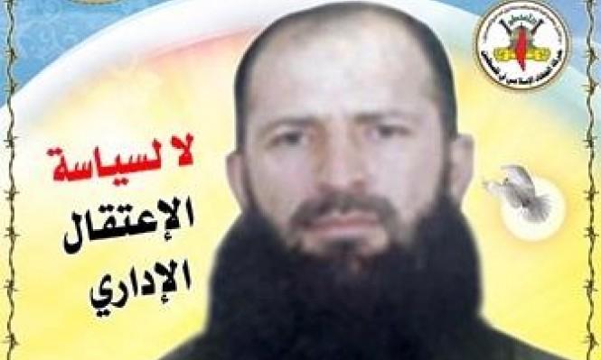 تجديد الاعتقال الإداري للأسير وحيد أبو مارية