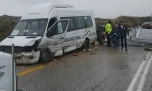 10 إصابات في حادثي طرق في حيفا وطبرية