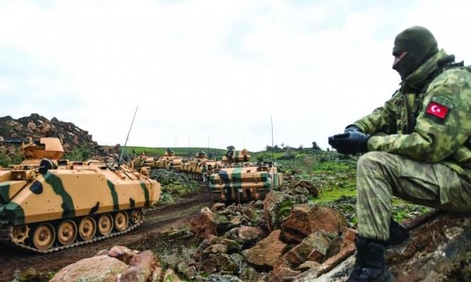 الجيش التركي يجدد قصفه لمواقع المسلحين الأكراد بعفرين