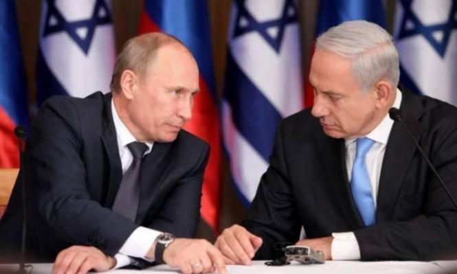 بوتين يلتقي نتنياهو بموسكو الإثنين المقبل