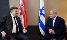 """اتفاق إسرائيلي كرواتي على بيع طائرات """"أف 16"""""""