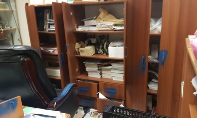 طرعان: اقتحام مدرسة وإعاثة الخراب في ممتلكاتها