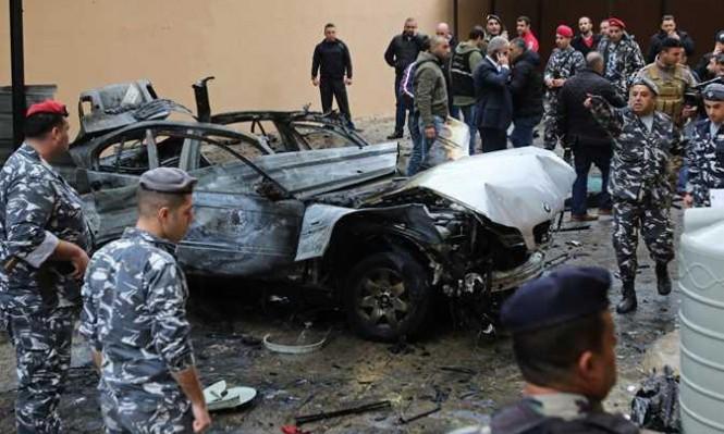 لبنان يؤكد تورط الموساد بتفجير صيدا