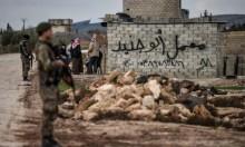 قصف تركي يلحق أضرارا بمعبد أثري في عفرين
