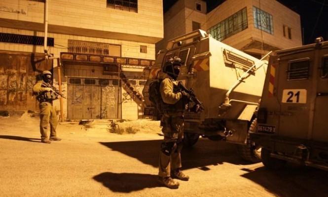 اعتقالات ومواجهات بالضفة واستهداف دورية عسكرية بجنين