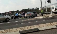 مفرق مسكنة: 3 إصابات في حادث طرق