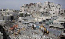 نشر جيش الاحتلال في بلدات القدس التي فصلها الجدار