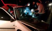 إصابتان إحداهما خطيرة في حادث طرق قرب فسوطة