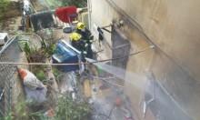 حيفا: مصرع امرأة إثر استنشاق دخان في حريق منزل