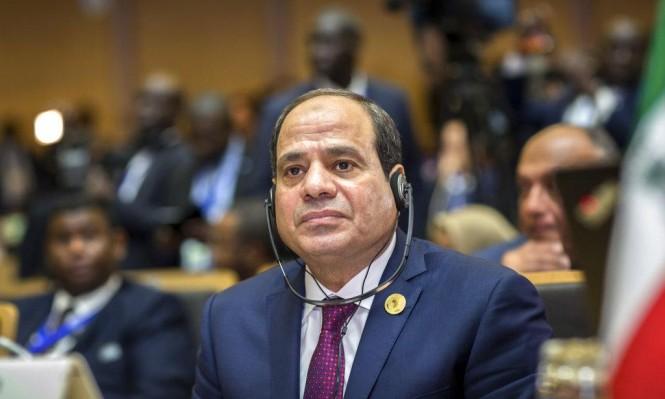 السيسي يزعم أن لا أزمة بين مصر والسودان وأثيوبيا