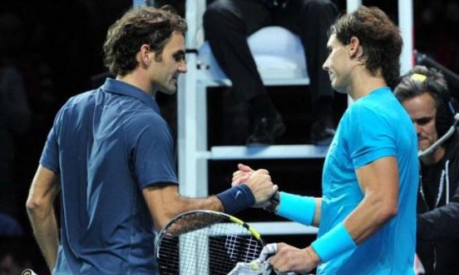 فيدرر يقترب من نادال في تصنيف لاعبي التنس