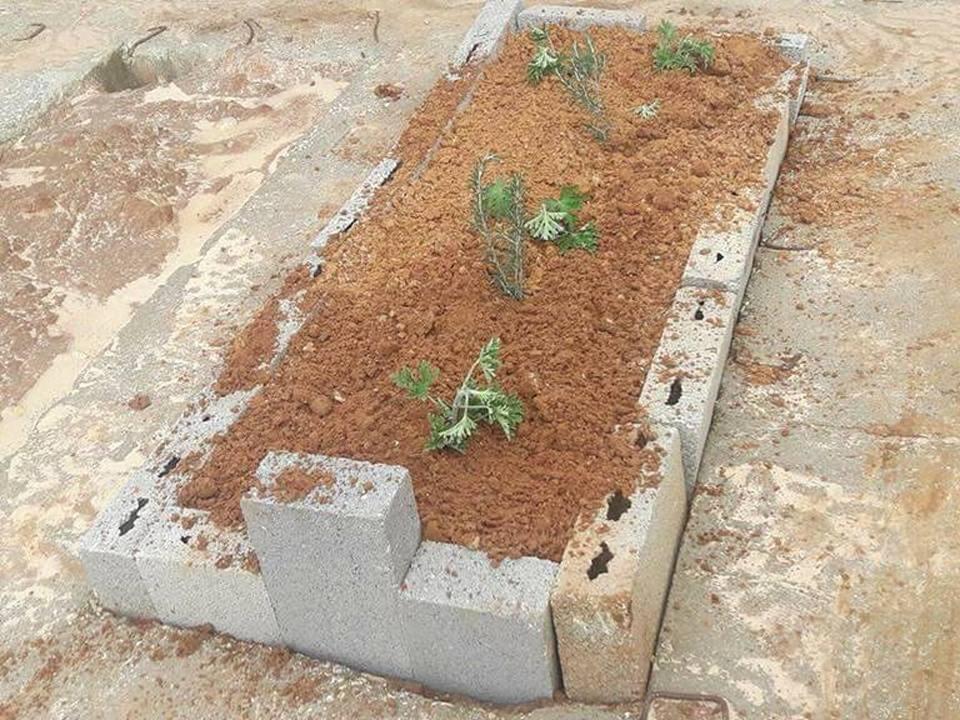 عرابة البطوف: قبر جديد مجهول