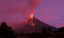 """الفلبين: الرماد يتساقط فوق مدن قريبة من بركان """"مايون"""""""