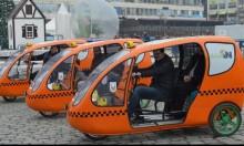 """مدينة تركية تطلق خدمة """"تاكسي الدراجات"""" للحد من تلوث الهواء"""