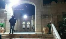 اعتداء عنصري على مسجد حسن بيك في يافا