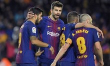 سواريز يقود برشلونة للفوز على فالنسيا