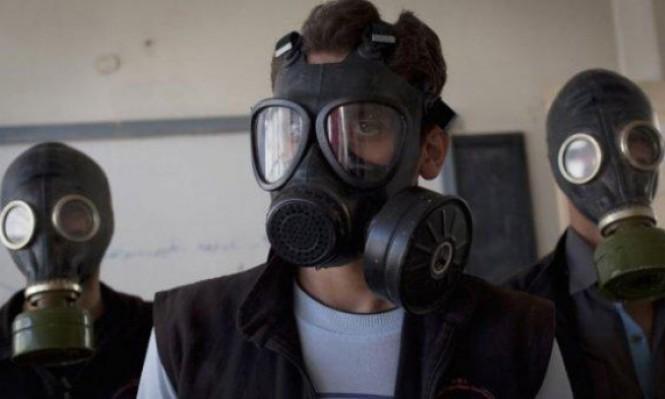 واشنطن تلوح بضربات عسكرية لسورية بداعي استخدام أسلحة كيميائية