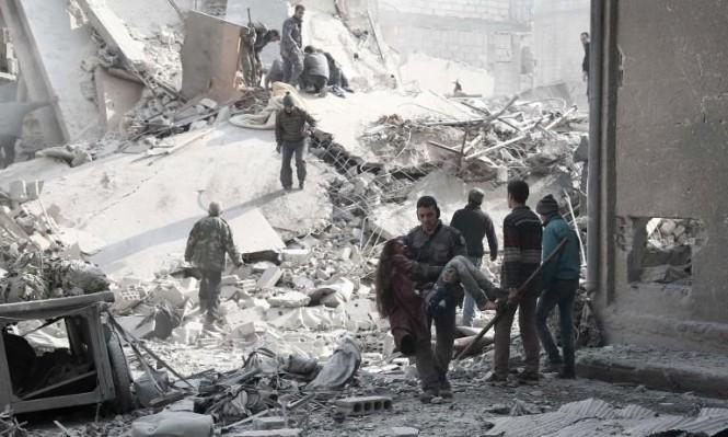 غارات سورية وروسية على محافظة إدلب