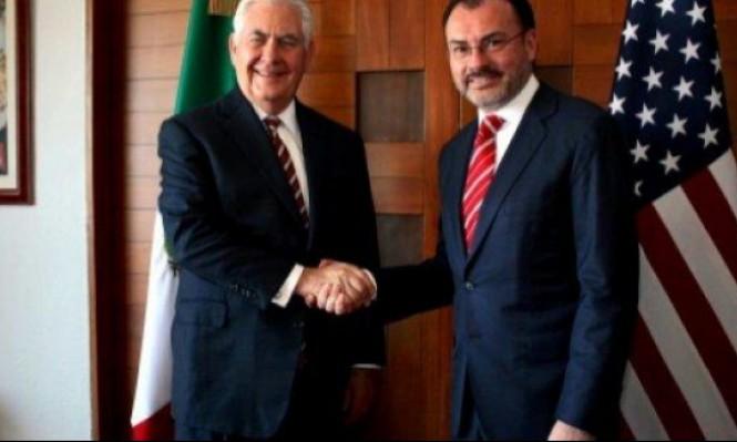 تيلرسون يحذر المكسيك من تدخل روسي في انتخاباتها الرئاسية