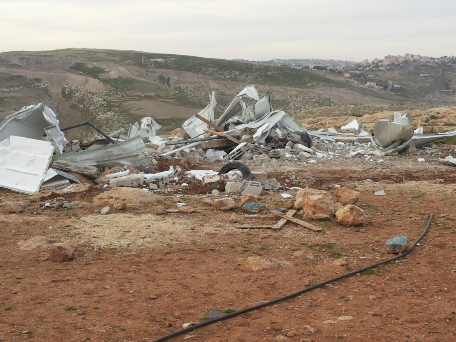 الاحتلال يستهدف المدارس بالتجمعات البدوية الفلسطينية